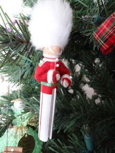 Clothes pin ornament....