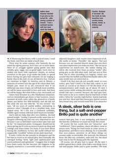 The ART OF GOING GREY....Saga Magazine