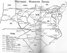 Western Migration Routes » swohioresearch.com - South West Ohio Research ~ By Discovering the Past, Discover the Future