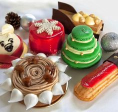 French patisserie - festive cakes