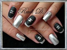 Mirror Nails by RadiD - Nail Art Gallery nailartgallery.nailsmag.com by Nails Magazine www.nailsmag.com #nailart