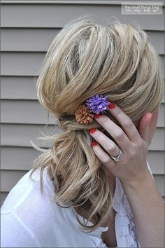 12 Beautiful Knotted Ponytail Hairstyles