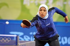 Abdul-Aziz Shaima - Muslim Table-Tennis Player