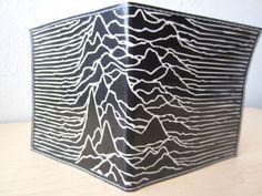 Joy Division Vinyl Wallet by hellostrangermx on Etsy, $10.00