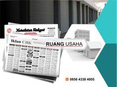 Pasang iklan baris Ruang Usaha di koran Kedaulatan Rakyat Jogja, Kirim Materi Iklan ke 085643384005 (SMS/WA)