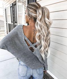 Blonde balayage xx