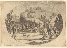 The Small Carrying of the Cross | Jacques Callot, The Small Carrying of the Cross