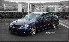 Lexus GS400 – 21″ D2FORGED VS4 Wheels | D2FORGED Wheels Gallery