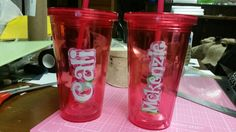 Girls cups