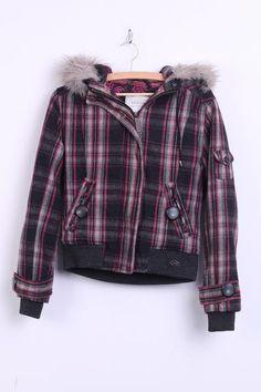 Diesel Check Coat Womens Jackets