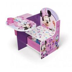 Disney Minnie Mouse Kids Chair Desk
