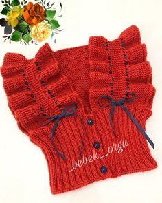 Wild Flowers Baby Vest and Cardigan Knitting Pattern - Pullover Crochet Girls, Crochet Baby, Knit Crochet, Knit Baby Dress, Baby Scarf, Baby Cardigan, Knitting For Kids, Baby Knitting Patterns, Knit Vest Pattern