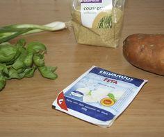 5 or less: Couscous, bataat en feta