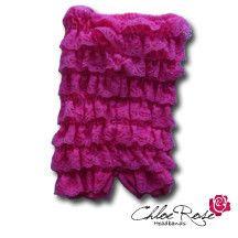 Bubblegum Strapless Romper | Chloe Rose Headbands