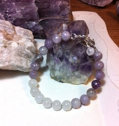 Third Eye / Crown Chakra  Snowy Quartz and by AlisonsGemstones