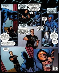 Maxwell Lord kills Ted Kord, Blue Beetle