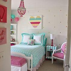 Inspiração fofa, fofa, fofa. #quarto #quartocriança #decoracao #decoration #cores #cute #decor #designdeinteriores #inspiracao #estampas #instadecor #instalove #instahome