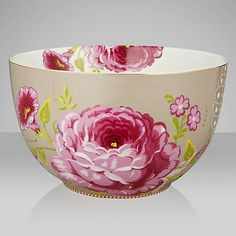 Buy PiP Studio Floral Bowl, Dia.23cm Online at johnlewis.com