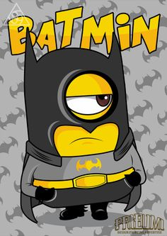 Minions Cartoon, Batman Cartoon, Cute Minions, Cartoon Art, Batman Poster, Batman Artwork, Funny Phone Wallpaper, Batman Wallpaper, Graffiti Doodles