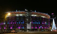 Arenas at night. Barcelona, Night, Barcelona Spain