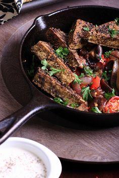 Za'atar Tofu [Olives for Dinner]