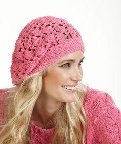 Free Crochet Pattern - Cap