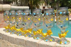 More mason jar wine glasses!