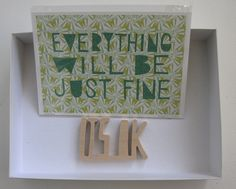 It's Gonna Be Okay Holiday Box by Little Paper Planes on Little Paper Planes $50