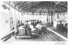 The Autodrome at the Kursaal, Southend. Essex England, London Places, Family History, Old Photos, 1920s, Fair Grounds, Sea, Travel, Old Pictures