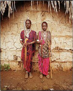 Massai people in Tanzania.