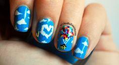 Pixar - UP   Wicked Fullmoon nail art #nails
