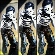 Banksy @ Hollywood, CA