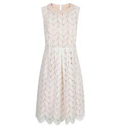 Leaf Lace Dress