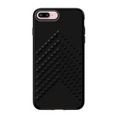 Rebecca Minkoff Chevron Stud Case For Iphone 8 Plus  Iphone 7 Plus ($40) ❤ liked on Polyvore featuring accessories, tech accessories, natural and rebecca minkoff