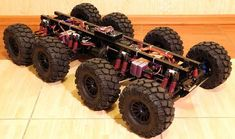 Traxxas Summit E-Maxx crauler rig Krohpit ATV Gyro Stable electric electro suspension octo pod Arduino Multiwii Crius All In One Pro Flight Controller Tekin bigfoot wheeled articulated make rc Drones, Drone Quadcopter, Robotics Projects, Arduino Projects, Rc Kits, Military Robot, Mobile Robot, Radios, Robotic Automation