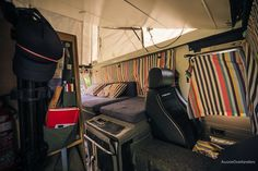 Inside the Troopy