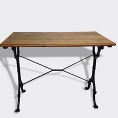 table de bistrot m tal blanc bon tat vintage 12234 tables. Black Bedroom Furniture Sets. Home Design Ideas