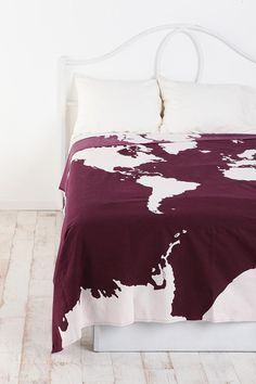 UrbanOutfitters.com > Atlas Tapestry ooohhh I like this color