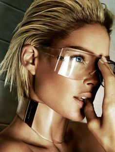 Doutzen Kroes by Mario Testino   Clear #accessories #collectiveworkshop