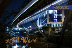 Futuristisches Islandufer in Wuppertal