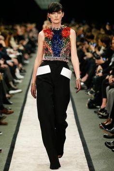 #Givenchy  #FW2014_15 #trends #colorFul #Catwalk #PFW #Paris
