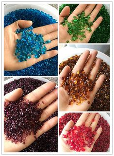 Smooth sea glass gravel 7mm-9mm good for marimo moss ball tanks,aquarium decor,filler Mosaic Fish tank Gravel even Jewelry