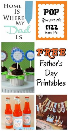 diy home sweet home: 6 Free Fathers Day Printables