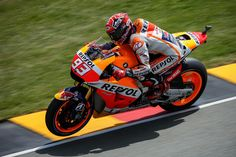 MotoGP: Marquez takes second victory in German GP / German GPの決勝が行われ、Repsol HondaのMarc Marquezがポールトゥウインで今シーズ2勝目を飾った。
