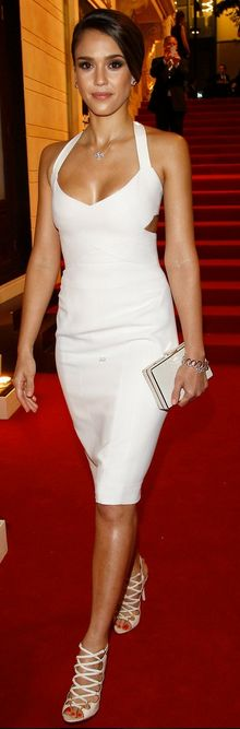 Little White Dress-use silver or white for accessories