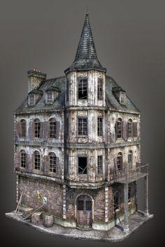 WWII Building 12 by mitchGLADNEY.deviantart.com on @deviantART
