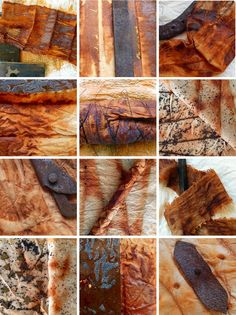 RUST dyeing has fascinated me for a long time, and although I have experimented with natural dyes over the years I haven't been brave eno...