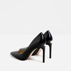 LEATHER HIGH HEEL SHOES-View all-SHOES-WOMAN | ZARA Greece