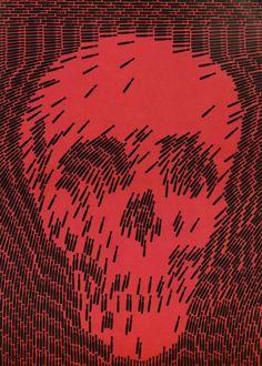 Japanese Poster: No More War. Shigeo Fukuda. 1968 - Gurafiku: Japanese Graphic Design