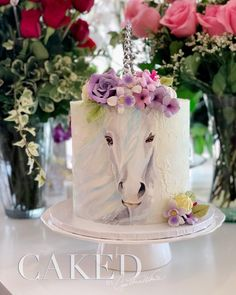 Fantastic Sweets (and How to Find Them) — Cake Wrecks Pretty Cakes, Cute Cakes, Beautiful Cakes, Amazing Cakes, Cake Icing, Eat Cake, Cupcake Cakes, Mermaid Birthday Cakes, Hand Painted Cakes